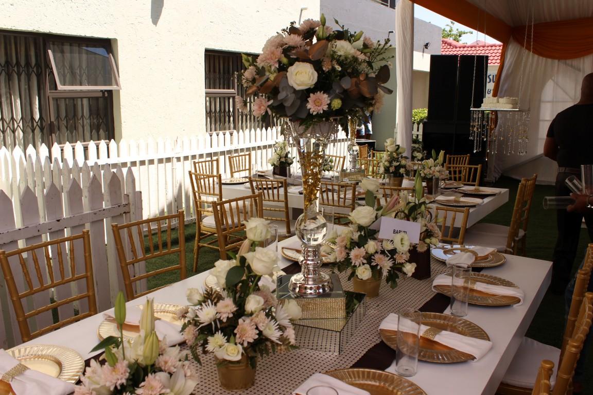 Traditional Wedding Setup